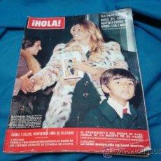 Coleccionismo de Revista Hola: ¡ HOLA ! NÚMERO 1474 - 25 DE NOVIEMBRE DE 1972 - 15 PESETAS. Lote 35920477