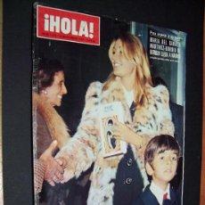 Coleccionismo de Revista Hola: ! HOLA ¡ - Nº 1474 - 25 NOVIEMBRE DE 1972 - 15 PTS. Lote 35917376