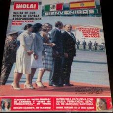 Collectionnisme de Magazine Hola: HOLA REVISTA - NUM 1788 - 2 DICIEMBRE 1978 - VISITA DE LOS REYES A MEXICO. Lote 215980812