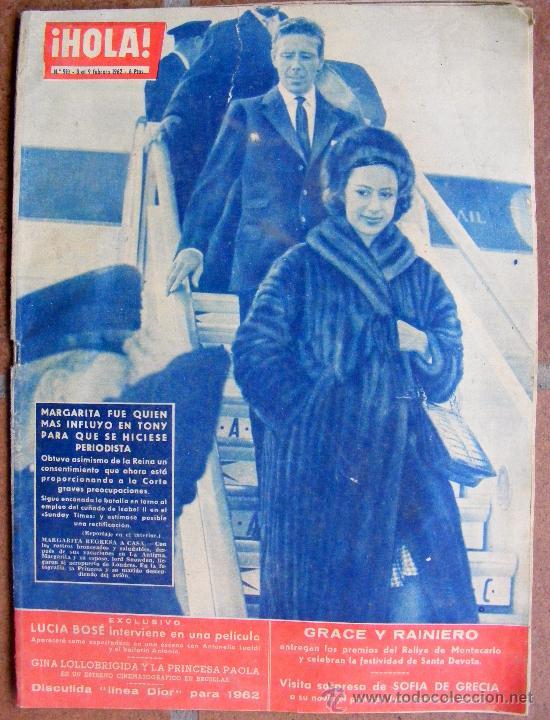 REVISTA ¡ HOLA ! Nº 910 FEBRERO DE 1962 (Coleccionismo - Revistas y Periódicos Modernos (a partir de 1.940) - Revista Hola)
