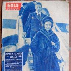 Collectionnisme de Magazine Hola: REVISTA ¡ HOLA ! Nº 910 FEBRERO DE 1962. Lote 36290779