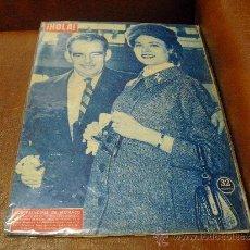 Coleccionismo de Revista Hola: REV. HOLA 11 /1956- LOS PRINCIPES MONACO EN BARCELONA-AMPLIO RPTJE.TEMPORADA OPERA EN ELLICEO. Lote 36303060