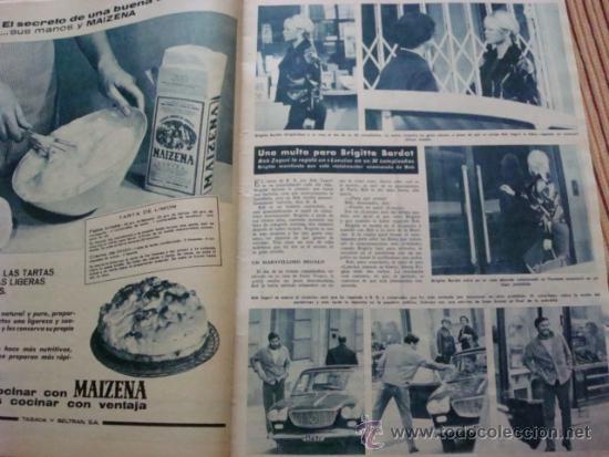 BRIGITTE BARDOT. HOLA (Coleccionismo - Revistas y Periódicos Modernos (a partir de 1.940) - Revista Hola)