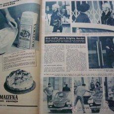 Coleccionismo de Revista Hola: BRIGITTE BARDOT. HOLA. Lote 36331889