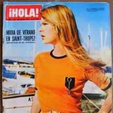 Coleccionismo de Revista Hola: REVISTA ¡ HOLA ! Nº 1.182 ABRIL DE 1067. Lote 36353417