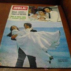 Coleccionismo de Revista Hola: REV. HOLA 5/1977-.ROCIO/PEDRO RPTJE.BODA TERESA RABAL,CHAPLIN/OONA,MICKY-CANTANTE,KATE JACKSON-. Lote 54828021