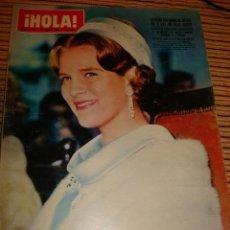 Coleccionismo de Revista Hola: BRIGITTE BARDOT. GRACIAS DE MONACO. HOLA. Lote 36376755