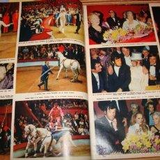 Coleccionismo de Revista Hola: BRIGITTE BARDOT. GRACIAS DE MONACO. HOLA. Lote 36376782