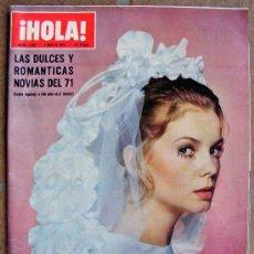 Coleccionismo de Revista Hola: REVISTA ¡ HOLA ! Nº 1.392 MAYO DE 1971. Lote 36444252
