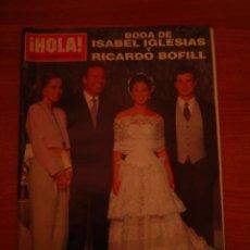 Coleccionismo de Revista Hola: REVISTA HOLA - 2563 - 23 SEPTIEMBRE 1993- . Lote 36575341