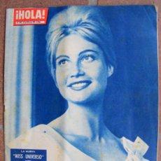 Coleccionismo de Revista Hola: REVISTA ¡ HOLA ! Nº 882 JULIO DE 1961. Lote 36653717