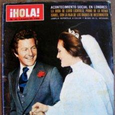 Coleccionismo de Revista Hola: REVISTA ¡ HOLA ! Nº 1595 MARZO DE 1975. Lote 36792796