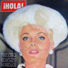 Coleccionismo de Revista Hola: REVISTA ¡ HOLA ! Nº 1.116 ENERO DE 1966. Lote 36809985