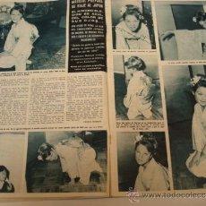 Coleccionismo de Revista Hola: MARISOL VIAJE A JAPON. GRACIA DE MONACO. REVISTA HOLA. Lote 36832329