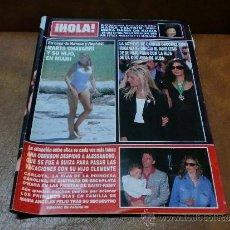 Coleccionismo de Revista Hola: REV. HOLA 4/1994-AN OBREGON-AMPLIO RPTJEMªANGELES FELIU,BRANDI,PRINCESA DIANA,. Lote 36991425