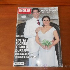 Coleccionismo de Revista Hola: REVISTA HOLA 26/05/2010 LOLITA. Lote 37035481
