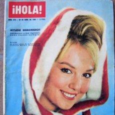 Coleccionismo de Revista Hola: REVISTA ¡ HOLA ! Nº 973 ABRIL DE 1963. Lote 37063292