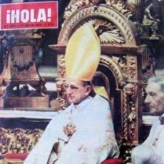 Coleccionismo de Revista Hola: REVISTA ¡ HOLA ! Nº 1.011 ENERO DE 1964 . Lote 37063315