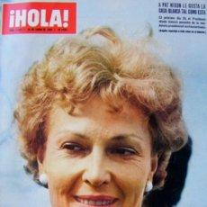 Coleccionismo de Revista Hola: REVISTA ¡ HOLA ! Nº 1.273 ENERO DE 1969. Lote 37063814