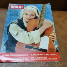Coleccionismo de Revista Hola: REV HOLA 9/1968 SUE LYON/JULIAN MATEOS FOTOS,ROMY SCHNEIDER,DAWN FRASER. Lote 37064764