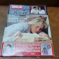 Coleccionismo de Revista Hola: REV. HOLA 7/2000-SHARON STONE-AMPLIO RPTJEBELEN ORDOÑEZ,C. FLORES,FIESTA EN MONACO,. Lote 37065013
