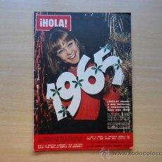 Coleccionismo de Revista Hola: MARISOL. LIZ TAYLOR, BRIGITTE BARDOT PORTADA REVISTA HOLA 26 DICIEMBRE 1964. Lote 37230372