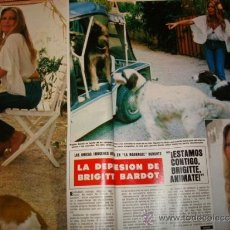 Coleccionismo de Revista Hola: BRIGITTE BARDOT. PRINCESS CAROLINE. URSULA ANDRESS. JULIO IGLESIAS. Lote 37244390