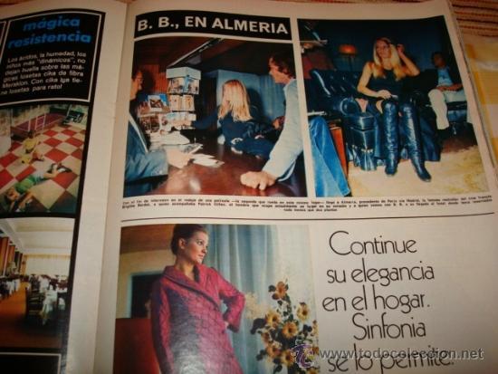 BRIGITTE BARDOT. URSULA ANDRESS. JACKIE ONASSIS. LIZ TAYLOR. (Coleccionismo - Revistas y Periódicos Modernos (a partir de 1.940) - Revista Hola)