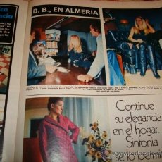 Coleccionismo de Revista Hola: BRIGITTE BARDOT. URSULA ANDRESS. JACKIE ONASSIS. LIZ TAYLOR.. Lote 37261926