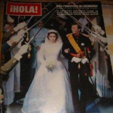 Coleccionismo de Revista Hola: WEDDING REALE. INFANTA CRISTINA. JACKIE KENNEDY. Lote 37315243