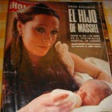 Coleccionismo de Revista Hola: MASSIEL- PRINCESS CAROLINE- ROMY SCHNEIDER- JACKIE KENNEDY- BARBARA CARRERA. Lote 37317441