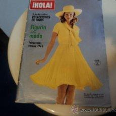 Coleccionismo de Revista Hola: NÚMERO ESPECIAL DE LA REVISTA ¡HOLA! DEDICADO A LAS COLECCIONES DE MODA DE PARÍS. 1973. Lote 37342762