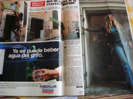 BRIGITTE BARDOT- CLAUDIA CARDINALE- PRINCESS DIANA- NANCY REAGAN (Coleccionismo - Revistas y Periódicos Modernos (a partir de 1.940) - Revista Hola)