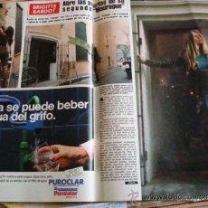 Coleccionismo de Revista Hola: BRIGITTE BARDOT- CLAUDIA CARDINALE- PRINCESS DIANA- NANCY REAGAN. Lote 37349741