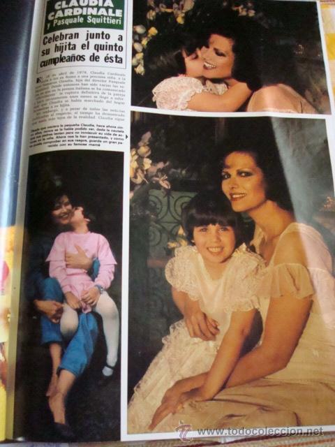 Coleccionismo de Revista Hola: CLAUDIA CARDINALE. - Foto 3 - 37349741