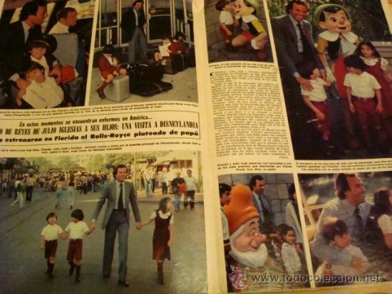 Coleccionismo de Revista Hola: JULIO IGLESIAS PAGINAS INTERIORES. - Foto 3 - 37357473