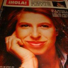 Coleccionismo de Revista Hola: MARIA JOSE CANTUDO. HIJAS DE MARISOL. BARBARA BOUCHET. MARISOL. GRACIA Y CAROLINA.. Lote 37373088