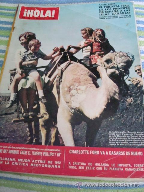 INFANTA CRISTINA- GRACIA DE MONACO- ROMY SCHNEIDER- JACKIE KENNEDY- BARBARA BOUCHET (Coleccionismo - Revistas y Periódicos Modernos (a partir de 1.940) - Revista Hola)