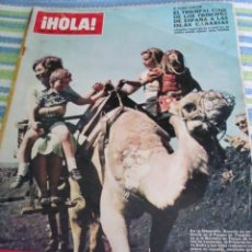 Coleccionismo de Revista Hola: INFANTA CRISTINA- GRACIA DE MONACO- ROMY SCHNEIDER- JACKIE KENNEDY- BARBARA BOUCHET. Lote 37411412