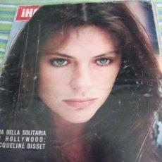 Coleccionismo de Revista Hola: JACQUELINE BISSET. BRITT EKLAND- GERALDINE CHAPLIN- JACKIE KENNEDY. Lote 37411574
