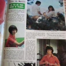 Coleccionismo de Revista Hola: MARISOL. ROMY SCHNEIDER- MARIA JOSE CANTUDO- GRACIA Y CAROLINA DE MONACO- AGOSTINA BELLI. Lote 37445380