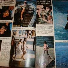 Coleccionismo de Revista Hola: ROMY SCHNEIDER- URSULA ANDRESS- CAROLINA DE MONACO- CLAUDIA CARDINALE. Lote 37466773