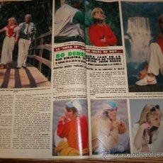 Coleccionismo de Revista Hola: MASSIEL- GRACIA-PRINCESS CAROLINE- BO DEREK- OLIVIA NEWTON JOHN- URSULA ANDRESS. Lote 37497345