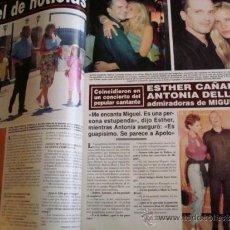 Coleccionismo de Revista Hola: MIGUEL BOSÉ- ROCIO JURADO- INFANTA CRISTINA- MASSIEL JULIO IGLESIAS. REVISTA HOLA. Lote 37517684