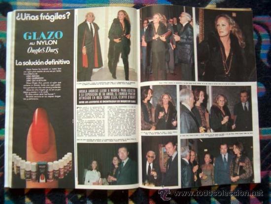Coleccionismo de Revista Hola: BRIGITTE BARDOT, URSULA ANDRESS, PATTY PRAVO, ROMINA POWER, NADIA COMANECI, CORINNE CLERY - Foto 2 - 37519206