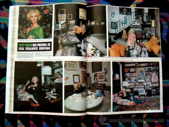 Coleccionismo de Revista Hola: BRIGITTE BARDOT, URSULA ANDRESS, PATTY PRAVO, ROMINA POWER, NADIA COMANECI, CORINNE CLERY - Foto 3 - 37519206