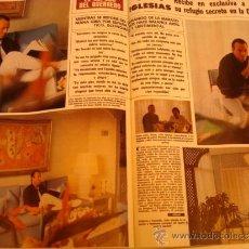 Coleccionismo de Revista Hola: JULIO IGLESIAS- PRINCESS DIANA- CAROLINA DE MONACO- ISABEL PREYSLER- JOHN TRAVOLTA- JACKIE KENNEDY . Lote 37559065