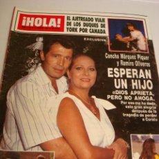Coleccionismo de Revista Hola: CHRISTOPHER REEVE- INFANTA CRISTINA- DON JOHNSON- PRINCESS DIANA. Lote 37592825