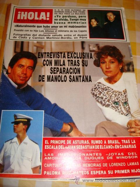 Coleccionismo de Revista Hola: PORTADA - Foto 3 - 37624939