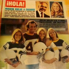 Coleccionismo de Revista Hola: JACKIE KENNEDY JACKIE BISSET ROMY SCHNEIDER MAYRA GOMEZ KEMP FARRAH FAWCETT. Lote 37641335